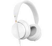 Plugged Crown Over Ear Headphones- White/Rose (OPEN BOX)