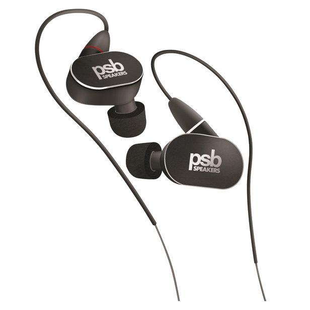 PSB M4U4 High Performance In-Ear Headphones(Black) - Audio46