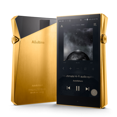 Astell & Kern - A&ultima SP2000 Digital Audio Player - Gold