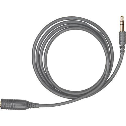 Shure 3' Headphone Extension Cable (Grey) - Audio46