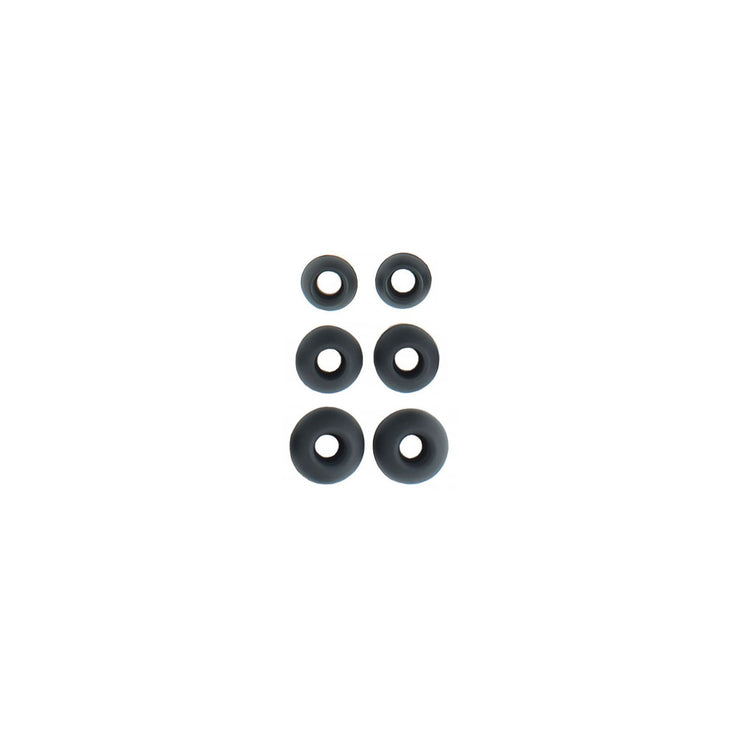 Campfire Audio Silicone Replacement Ear-Tips (Black) Small - Audio46
