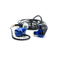 Vision Ears - VE 2 Universal Signature Design In-Ear Monitors (Special Order)