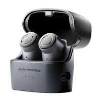 Audio-Technica - ATH-ANC300TW QuietPoint Wireless Active Noise-Cancelling In-Ear Headphones