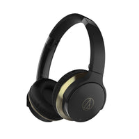 Audio-Technica - ATH-AR3BT SonicFuel® Bluetooth Headphones with Mic (Black, Open Box)