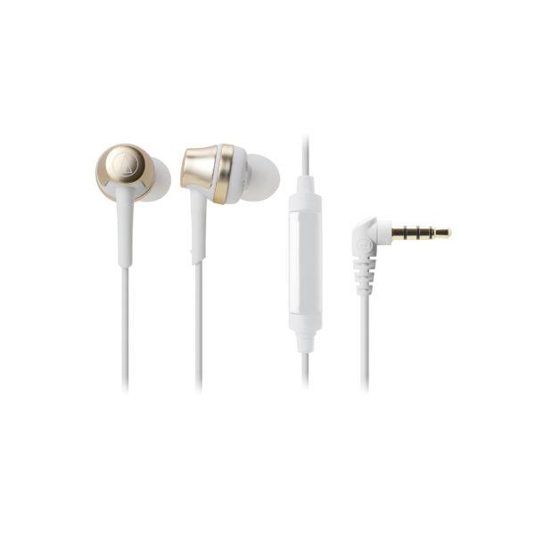 Audio-technica ATH-CRK50CG Champagne Gold Earphones - Audio46