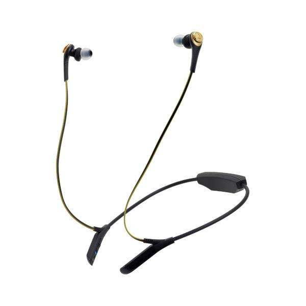 Audio-technica ATH-CKS550BTBGD Black Wireless Earphones - Audio46