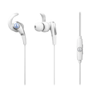 Audio-Technica ATH-CKX5iS Sonic Fuel White Earphones - Audio46