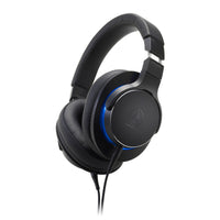 Audio-Technica - ATH-MSR7b Over-Ear High-Resolution Headphones (Free Strauss and Wagner SPW301)