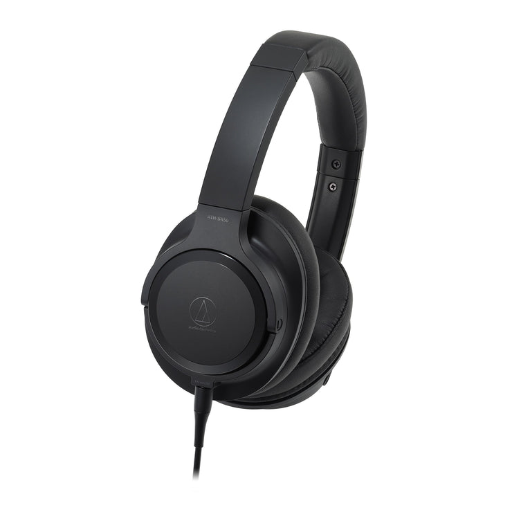 Audio-Technica - ATH-SR50 Hi-Res Over-Ear Headphones with Balanced Cable (Open box)