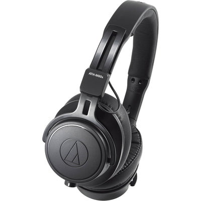 Audio-Technica - ATH-M60x Professional Monitor Headphones + XIT Audio Portable Bluetooth Speaker