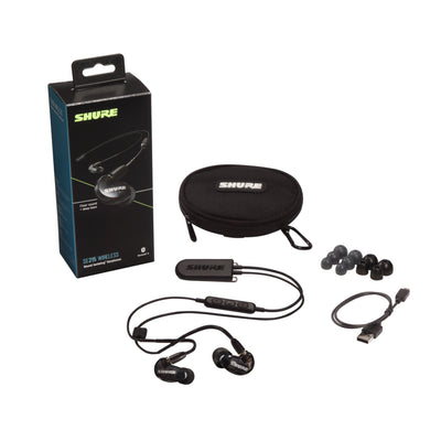 Shure - SE215 Sound Isolating Earphones with BT2 Bluetooth Cable