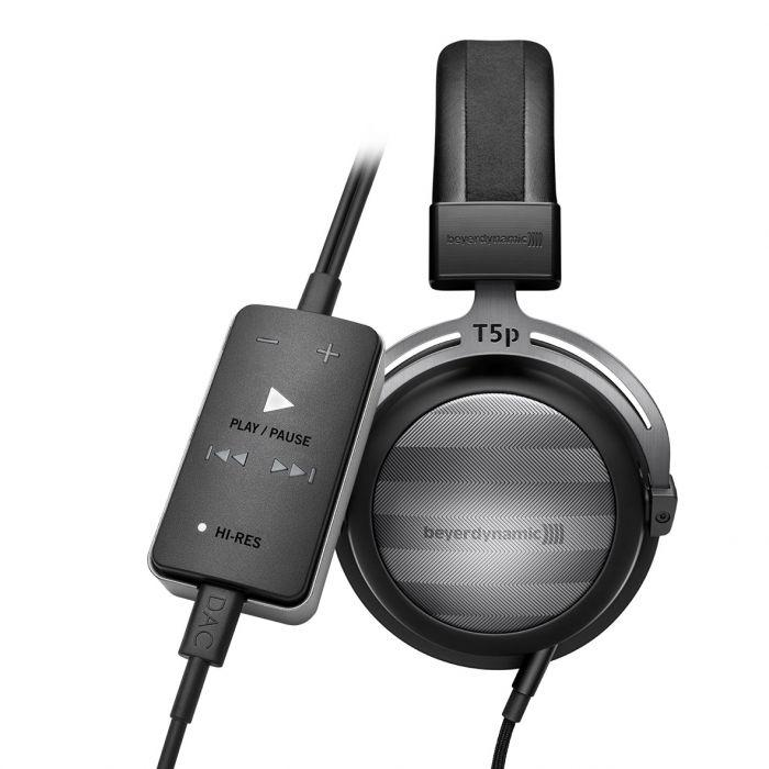 Beyerdynamic - COLE - 2nd Gen T5 Headphones & Impacto Universal High-End Cable DAC & AMP BUNDLE - Audio46
