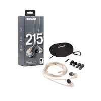 Shure - SE215 Wired Sound-Isolating Earphones