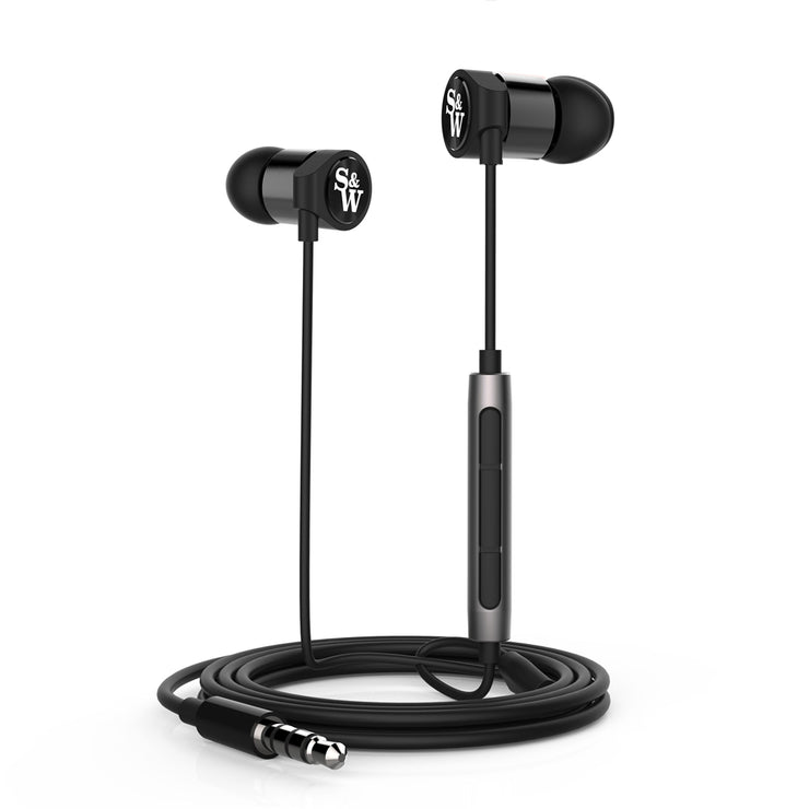 Strauss & Wagner - EM205 Earphones with 3.5mm Connection And Mic+Remote