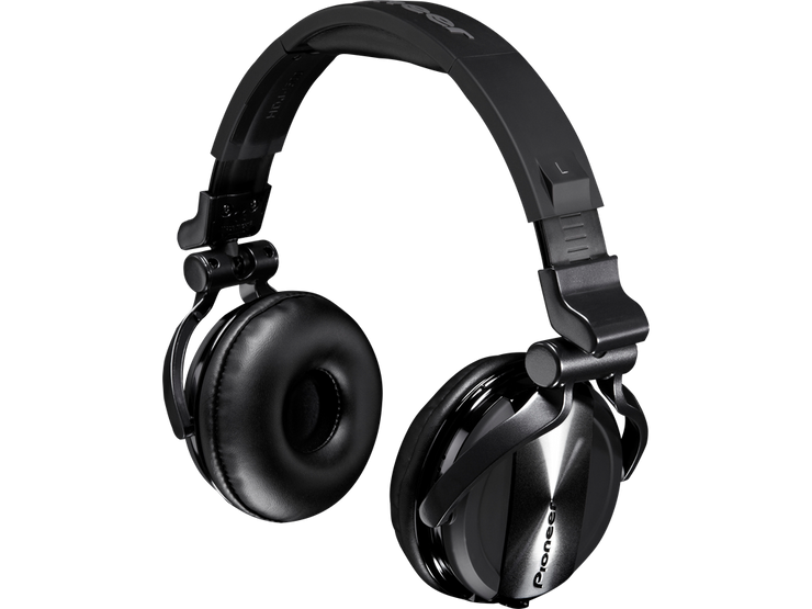 Pioneer HDJ-1500-K Professional DJ headphones (Black) - Audio46