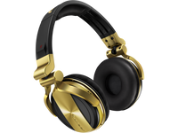 Pioneer HDJ-1500-N Professional DJ headphones (Gold) - Audio46