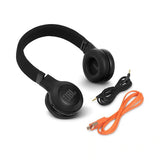 JBL - E45BT Bluetooth On-Ear Black Headphones - Audio46