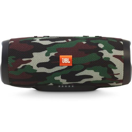 JBL Charge 3 Camouflage Portable Bluetooth Speaker - Audio46