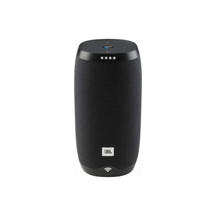 JBL - LINK 10 Smart Portable Bluetooth Speaker with the Google Assistant built in - Black - Audio46
