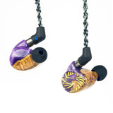 JH Audio - LIMITED EDITION Purple Haze JIMI AION Universal IEM (Open Box)