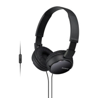 Sony MDR-ZX110AP Extra Bass On Ear Headphones with Mic