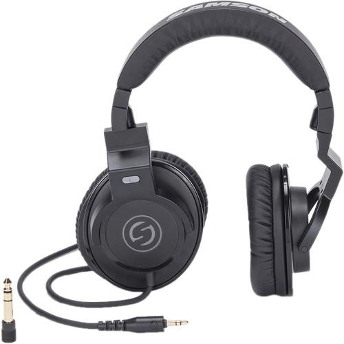Samson Z25 Over The Ear Studio Headphones - Audio46