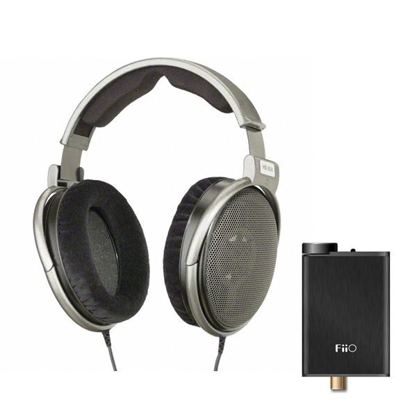 Sennheiser HD650 – Reference Class Stereo Headphones w/ Free FiiO E10K Olympus 2 Headphone Amplifier LIMITED TIME ONLY - Audio46