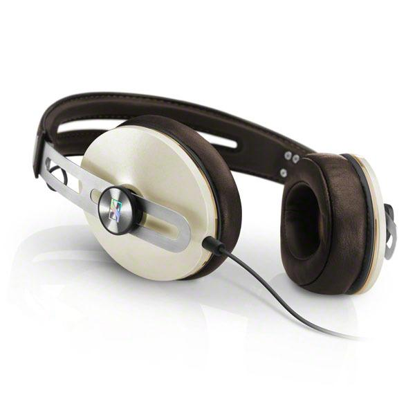 Sennheiser Momentum M2 Over Ear Headphones for iOS (Ivory) - Audio46