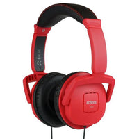 Fostex TH7 Red Over-Ear Closed-Back Headphones - Audio46