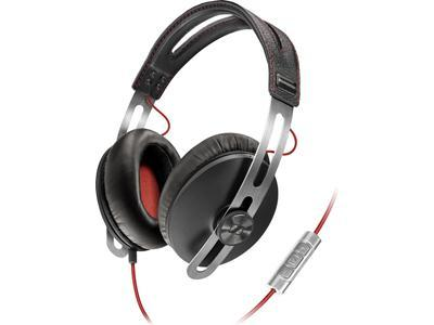 Sennheiser Momentum Headphones (Black and Red) - Audio46