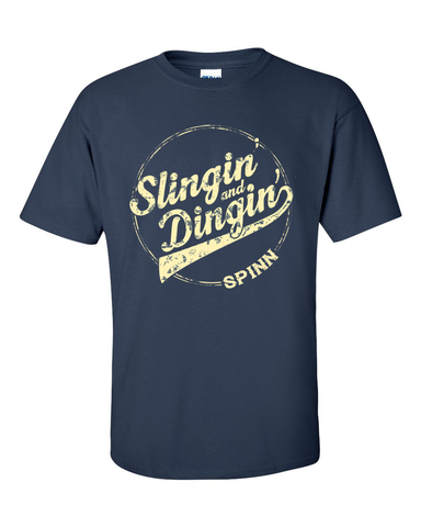 Spinn : Slingin' and Dingin' Tee