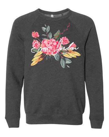 Error Jordan : Flower Sweatshirt