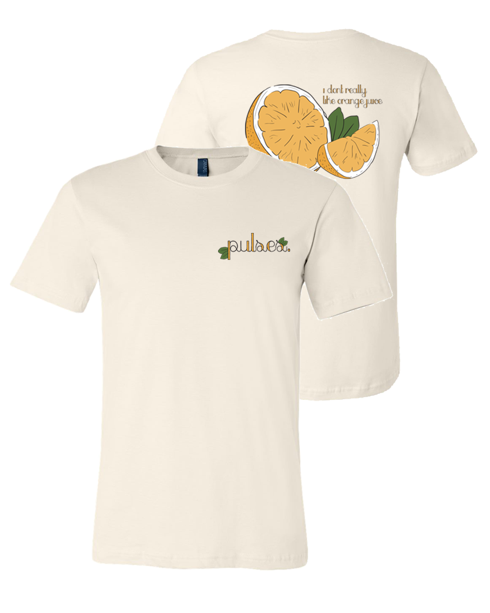 Pulses. : Orange Juice Tee