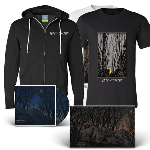 Body Thief : Travel Glow CD, Vinyl, and Zip Up Bundle