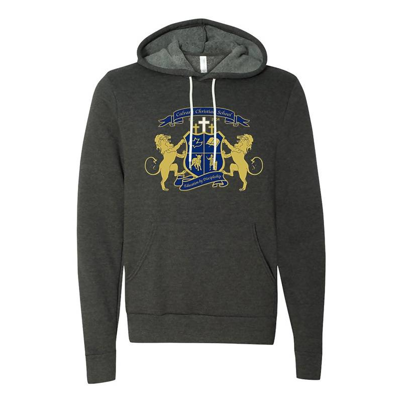 Crest Hoodie (Charcoal)