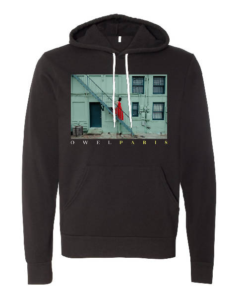 OWEL : Paris Spaced Hoodie