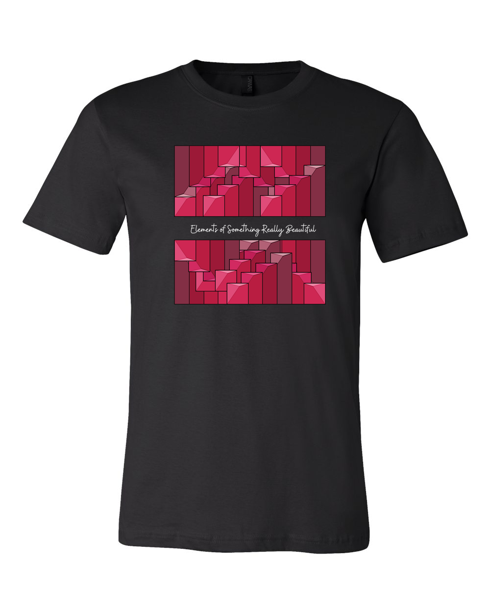 Elements of Something Really Beautiful : Red Steps Tee