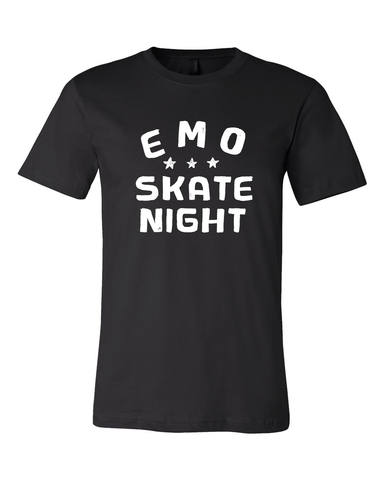 Emo Skate Night : Stacked Tee