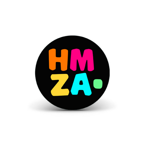 "HMZA. : 4"" Sticker Pack (10 qty) + ""Slow Down"" Digital Download"