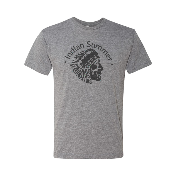 Indian Head Tee (Grey)