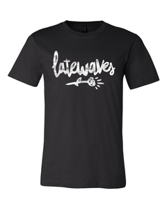 Latewaves : Flower Tee (Black)