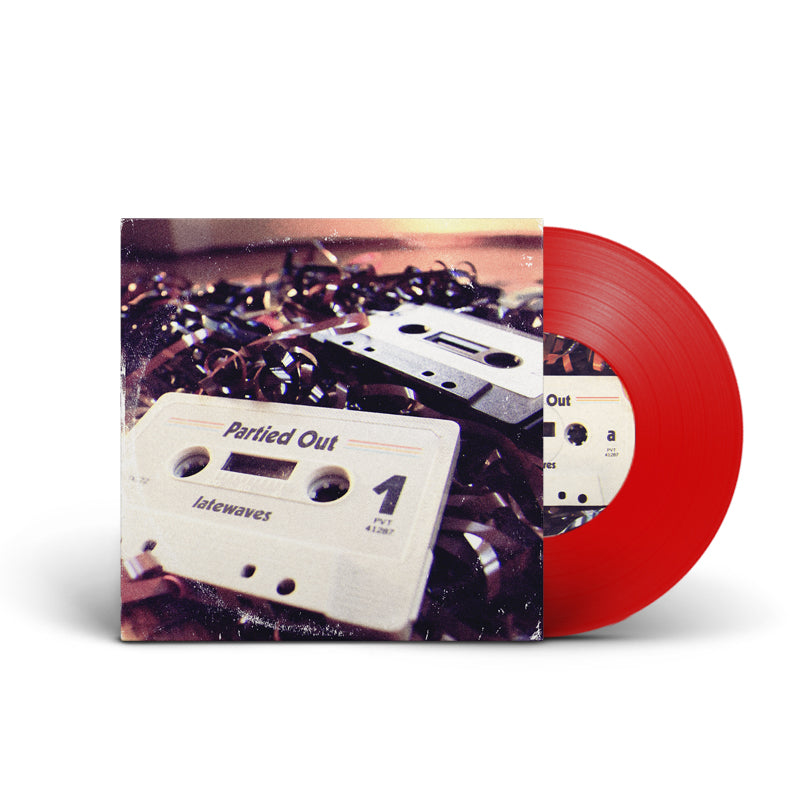 "Latewaves : Partied Out 10"" (RED)"