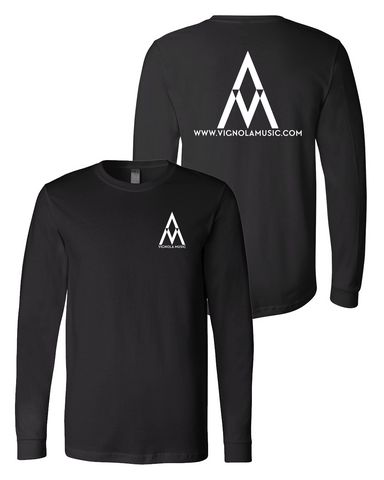 Vignola Music : Logo Long Sleeve Tee