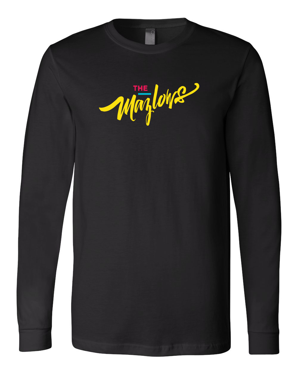 The Mazlows : Script Long Sleeve
