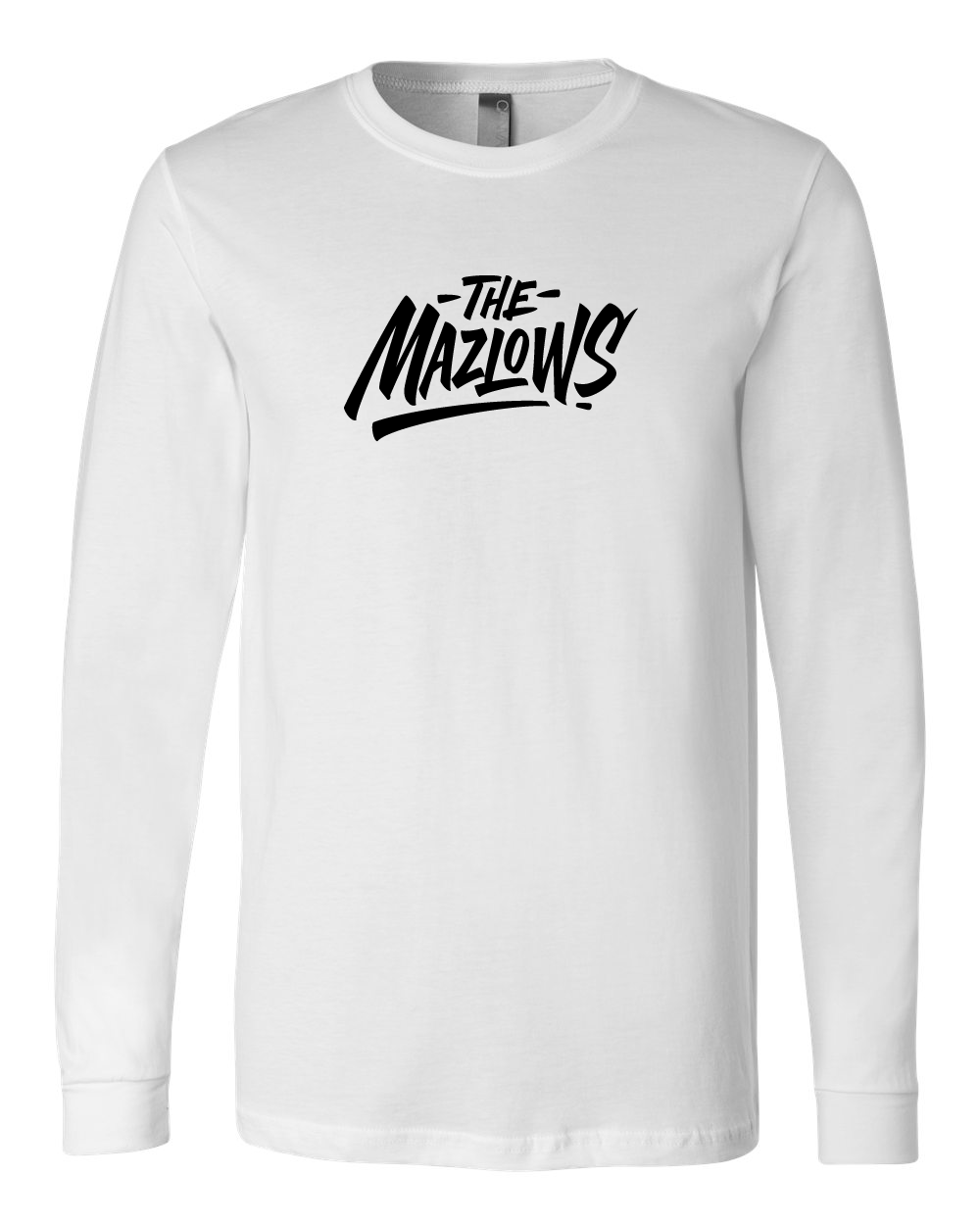 The Mazlows : Logo Long Sleeve