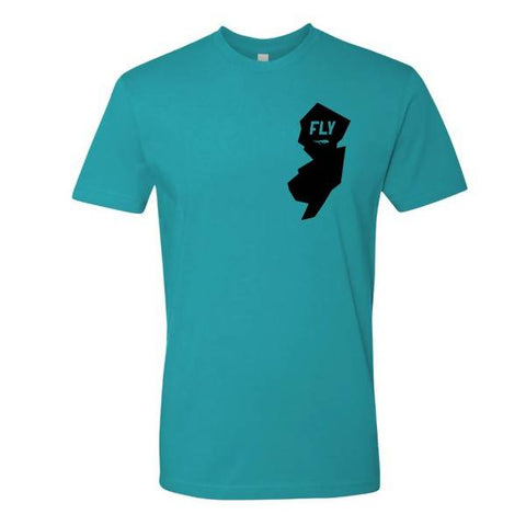 FLY Tee (Tahiti Blue)