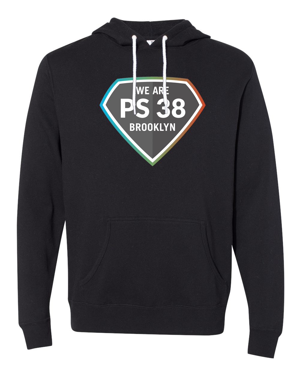 P.S. 38 : Adult Pullover Hoodie