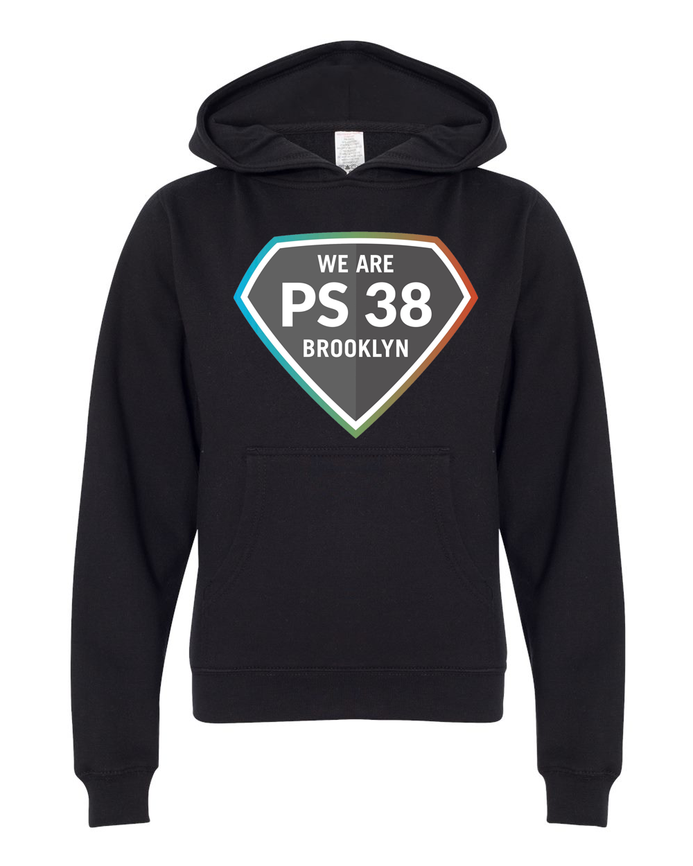 P.S. 38 : Youth Pullover Hoodie
