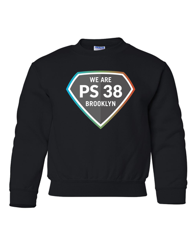 P.S. 38 : Youth Crewneck Sweatshirt