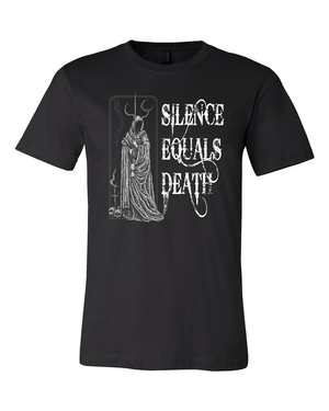 Silence Equals Death : Devil Tee